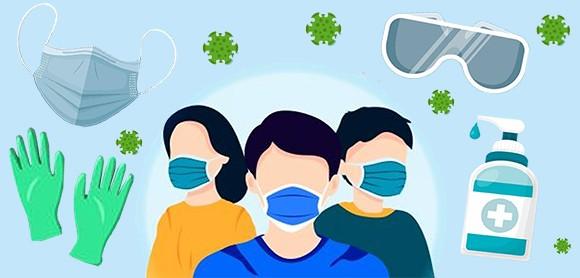 ماسک و ضدعفونی کننده ها